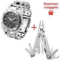 Часы-мультитул Leatherman Tread Tempo Steel 832421