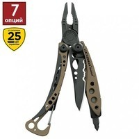 Фото Комплект Leatherman мультитул Skeletool Coyote Black 520117 + набор бит BIT KIT 931014