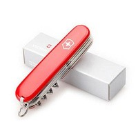 Комплект Мультитул Leatherman Wingman 832523 + Нож Victorinox Huntsman Red 1.3713